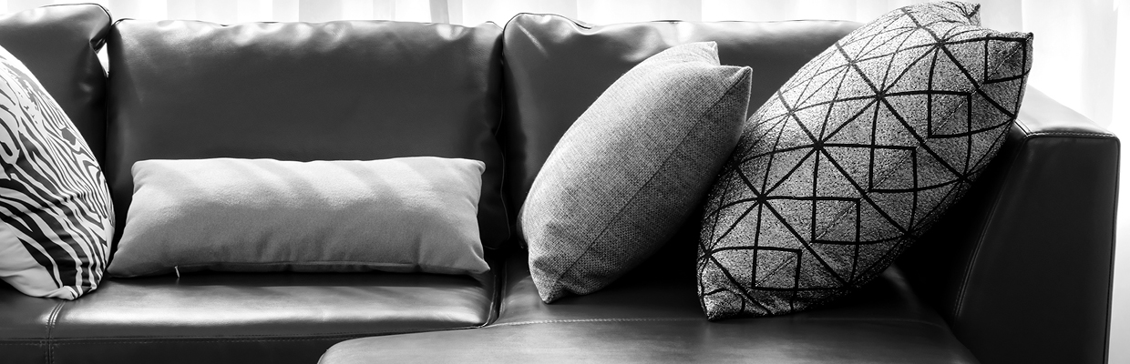 A sofa with cushions; image used for HSBC Australia Interest Free.