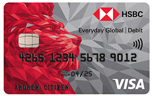 International Bank Account | Everyday Global - HSBC AU