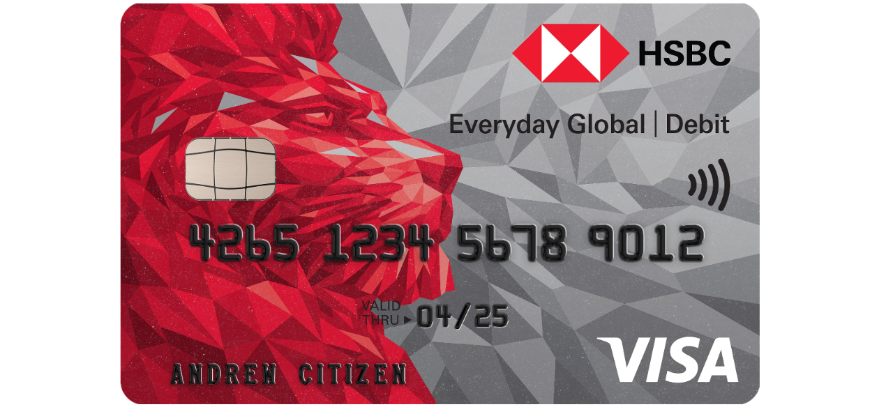 HSBC Everyday Global Account Debit Card